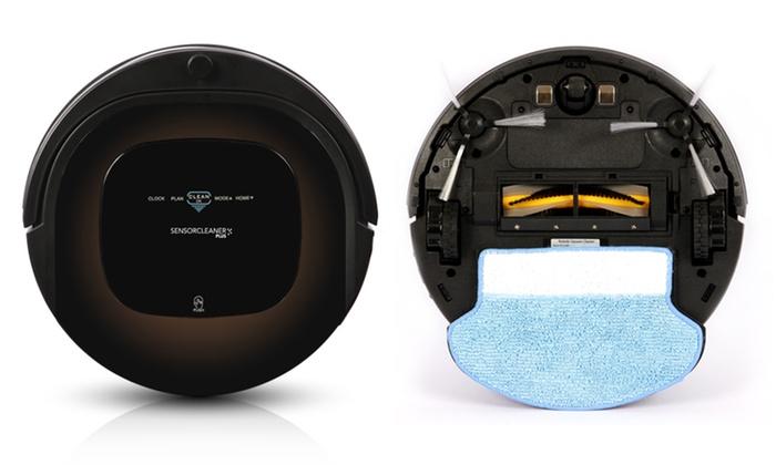 aspirateur robot et laveur sols durs tapis et moquette