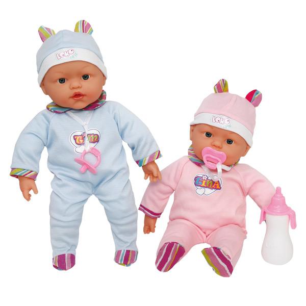 bebe jumeaux jouet