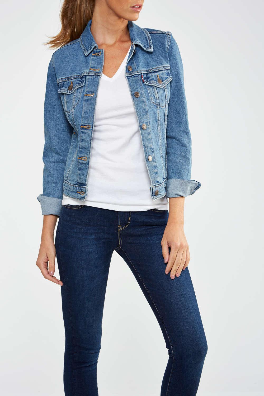 blouson jean femme levis