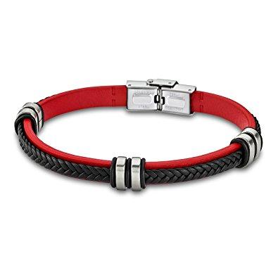 bracelet rouge et noir