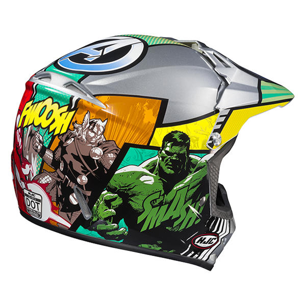 casque enfant moto cross