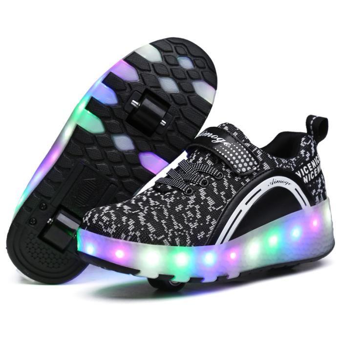 chaussures avec des roues