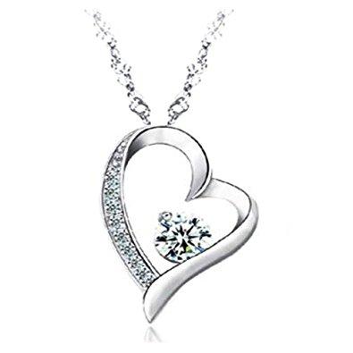 collier femme coeur