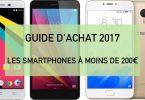 comparatif smartphone moins de 200 euros