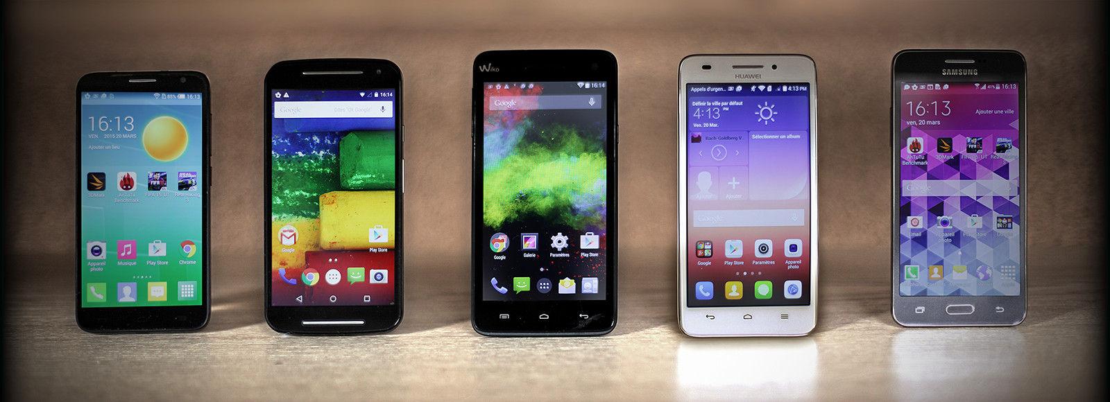 comparatif smartphone moins de 200
