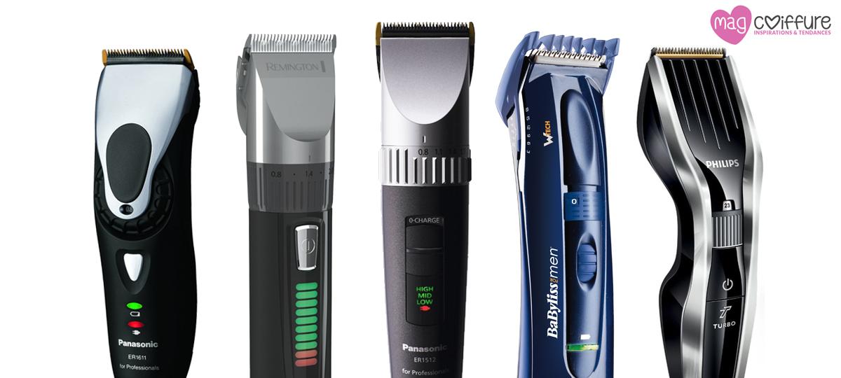 comparatif tondeuse cheveux et barbe