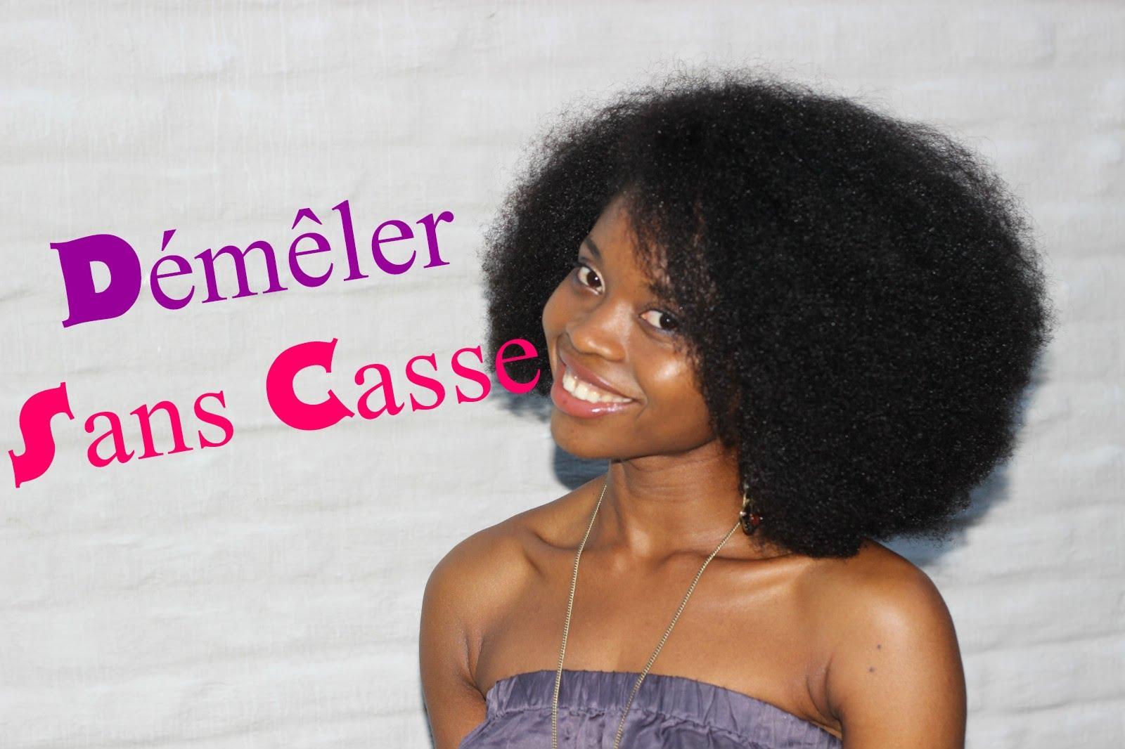demelant cheveux afro