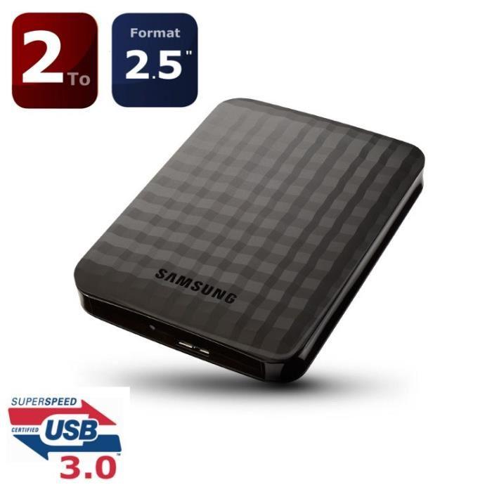 disque dur externe 2to 2.5