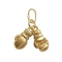 gant de boxe en or