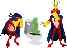 mauvaise odeur toilettes maison