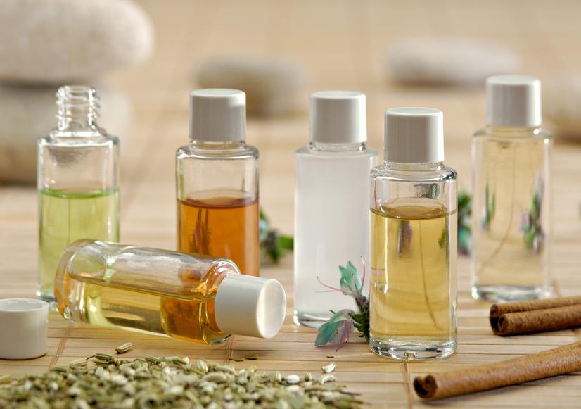 mélange huile essentielle et huile végétale