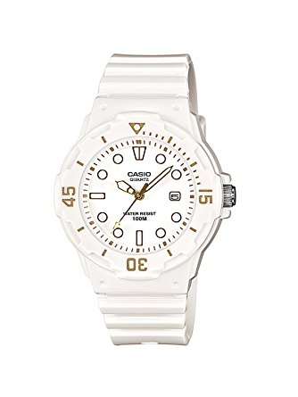 montre casio blanche