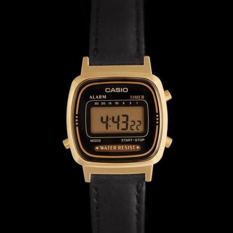 montre casio bracelet cuir