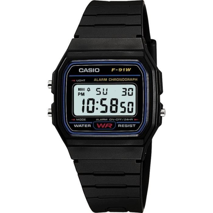montre casio etanche