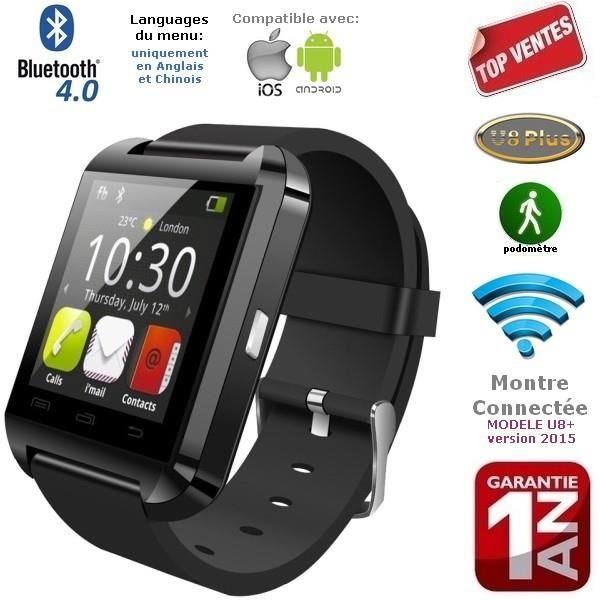 montre connectée compatible iphone 6