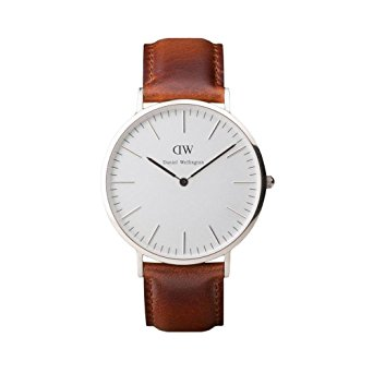 montre daniel wellington marron
