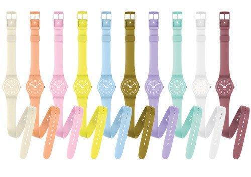 montre double bracelet swatch