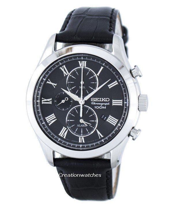 montre seiko chronographe
