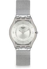 montre swatch femme argent