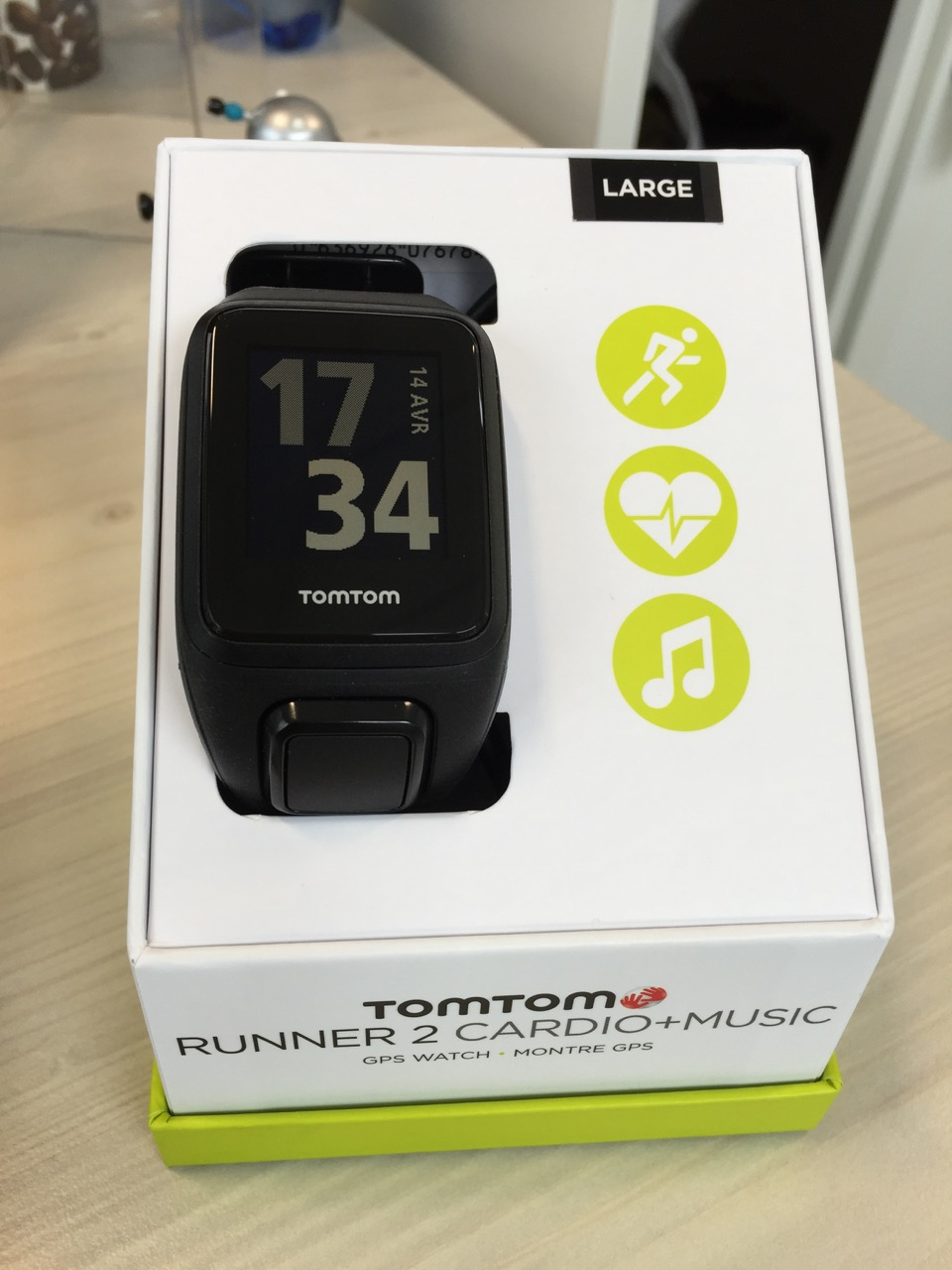montre tomtom test