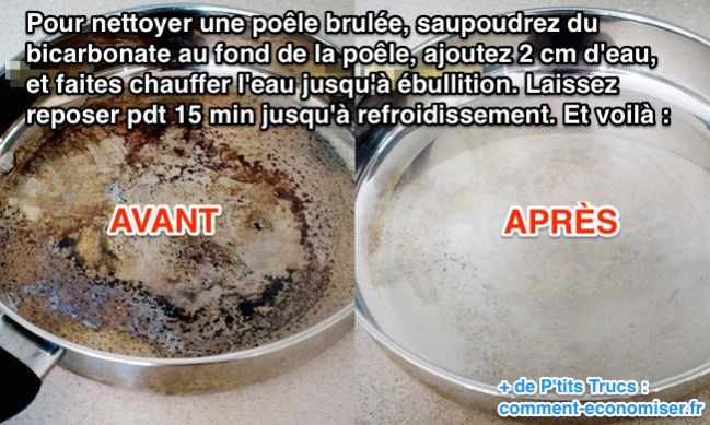 nettoyer avec bicarbonate de soude