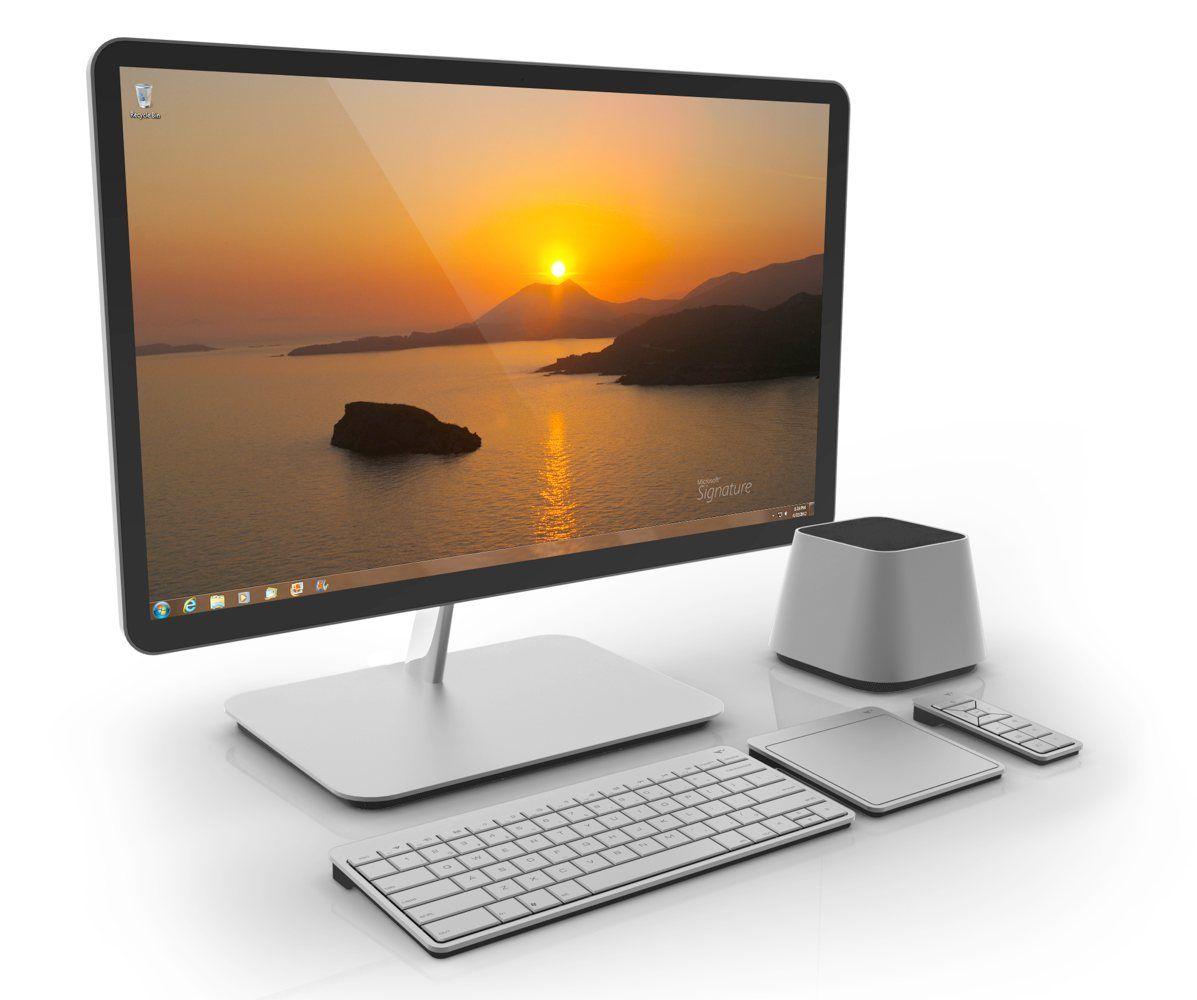 ordinateur bureau tout en un