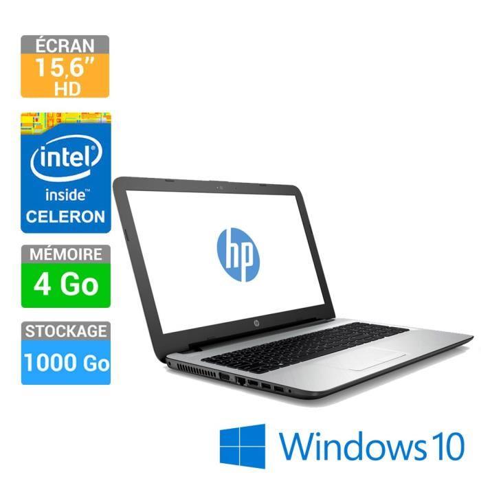 "ordinateur portable hp 15"" 15-ac132nf"