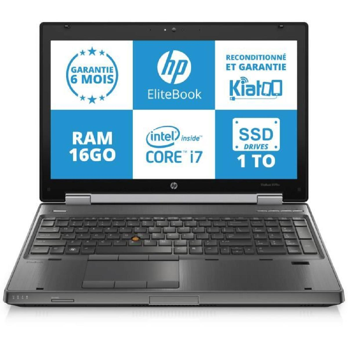 ordinateur portable hp intel core i7