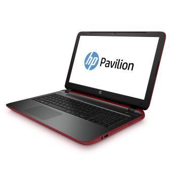 ordinateur portable hp rouge