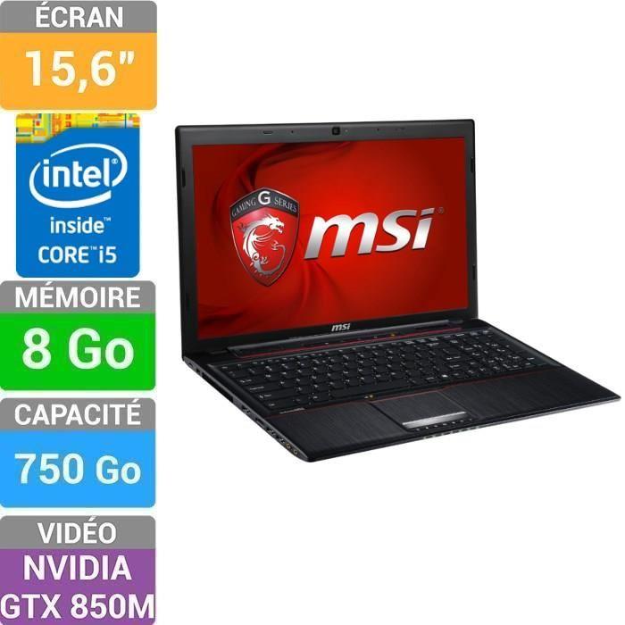 ordinateur portable msi ge60