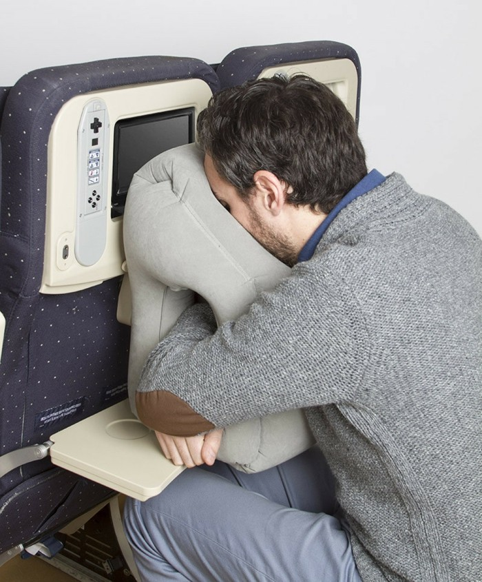 oreiller avion