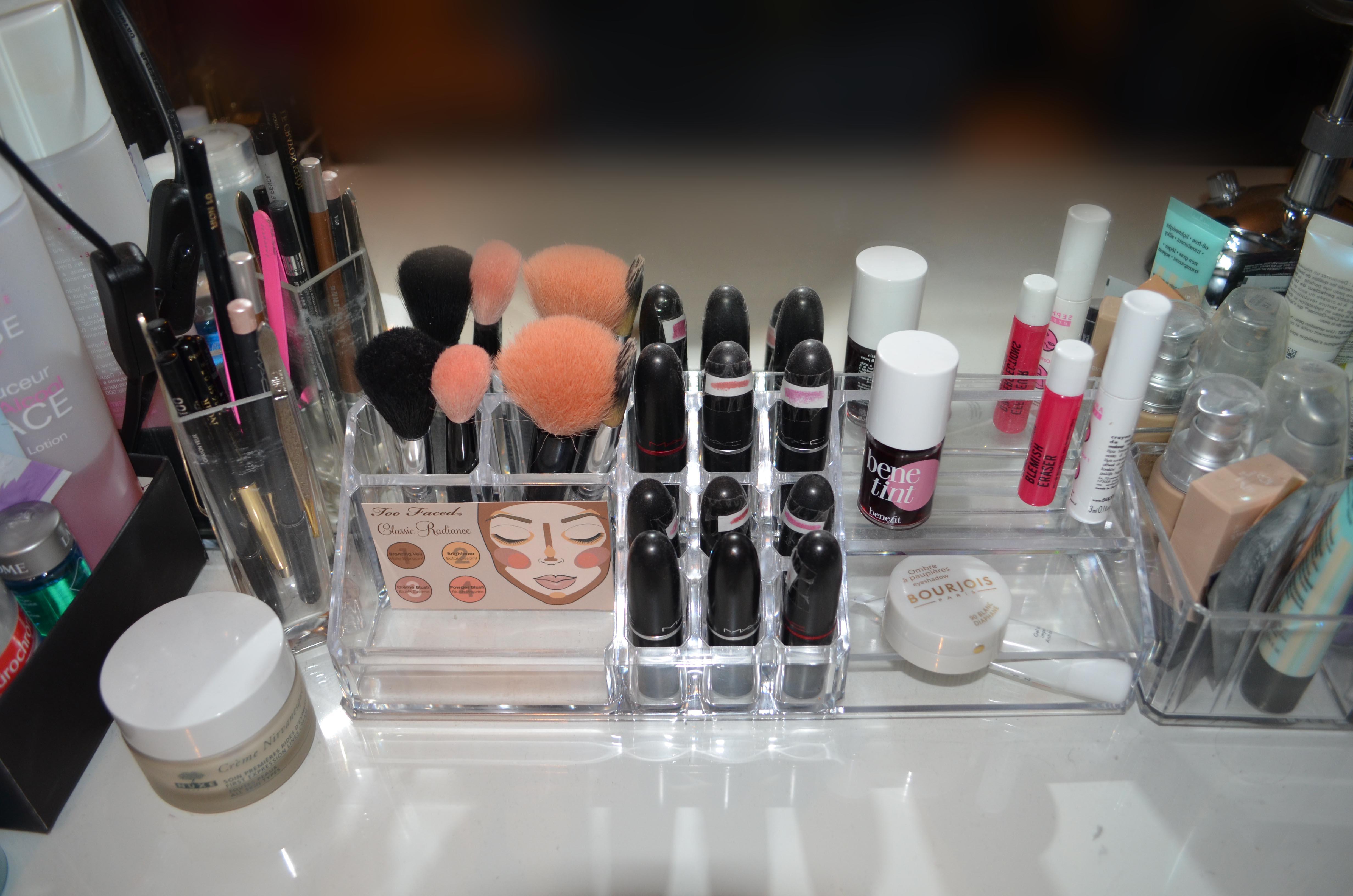 ou trouver rangement maquillage