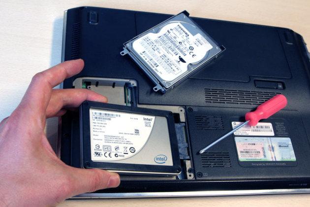 pc portable disque dur ssd