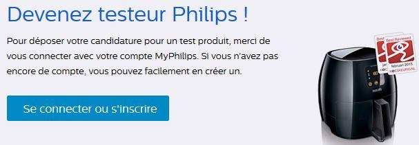 philips test produit