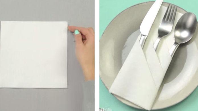 avis pliage de serviette pour couvert le test 2019. Black Bedroom Furniture Sets. Home Design Ideas