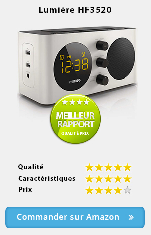 radio réveil de qualité