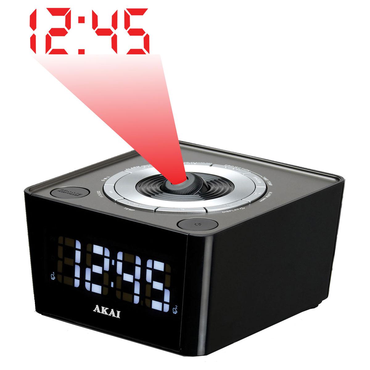 radio reveil projecteur usb