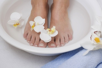 recette bain de pied