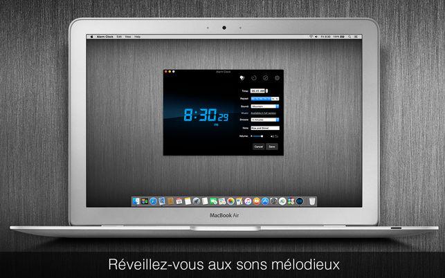 reveil macbook