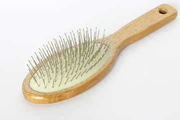 une brosse