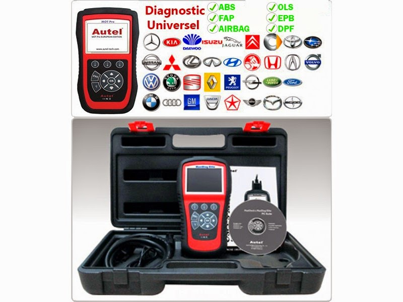 valise diagnostic moteur