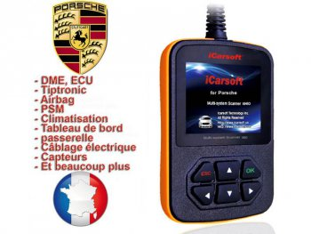 valise diagnostic porsche