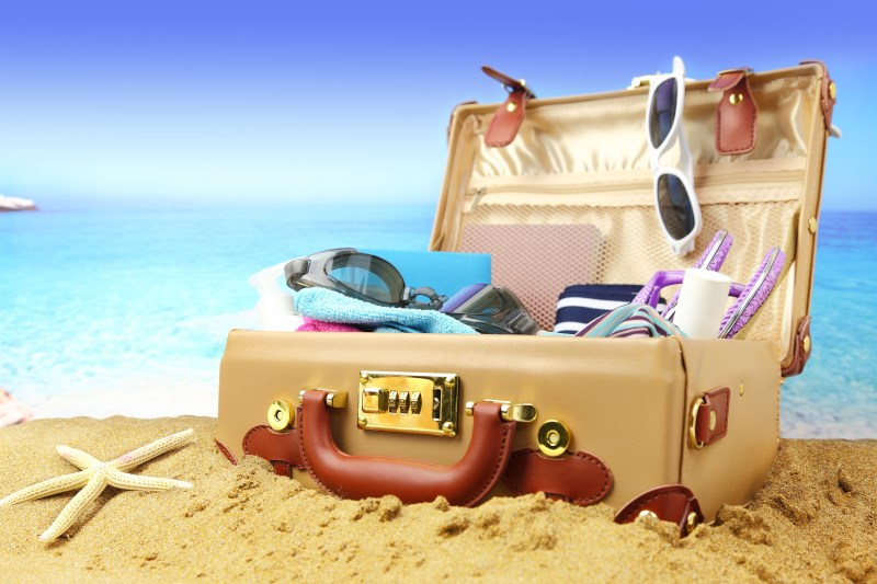 valise voyage aventure
